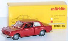 Märklin 1:43 18103-04 BMW 2002 aus Metall in purpurrot - NEU + OVP