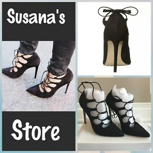 NEW STEVE MADDEN Keenton Nubuck Suede Dress Heels 6.5 Medium (B,M)