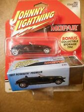 JOHNNY LIGHTING 1997 PROWLER WITH STORAGE TIN - 1:64TH SCALE  DIE-CAST