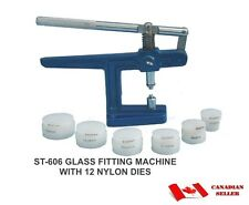 Watch Glass & Back Case Fitting Machine with 12 Nylon Dies ST606
