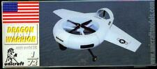 Unicraft Models 1/72 DRAGON WARRIOR UAV American Unmanned Aerial Vehicle