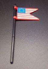 Playmobil American Flag and Flag Pole