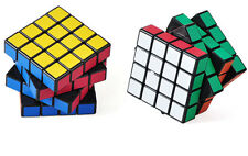 4X4X4 Magic ABS Ultra-smooth Professional Speed Cube Puzzle Twist Gift Black