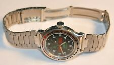 Russian Soviet Army Watch Amphibian Commander Military Award Chechnya Helicopter