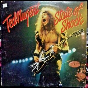 TED NUGENT State of Shock Album Released 1979 Vinyl/Record  Collection USA