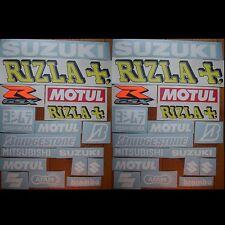 34tlgs. Aufkleber Sticker Set Suzuki Rizla #0014
