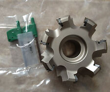 D100mm 45Deg Indexable Face Mill Cutter for SEMT13T3AGSN/SEGT13T3