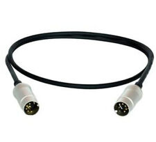 MIDI 5 Pin Male To XLR 3 Female Adapter Cable Ft 2 Packs Prof To