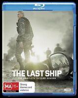The Last Ship : Season 2 (Blu-ray, 2016, 3-Disc Set) New, ExRetail (D121)