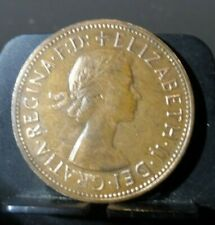 CIRCULATED 1962 1 PENNY UK COIN (90519)1...FREE DOMESTIC SHIPPING!!
