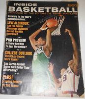 Inside Basketball Magazine Lew Alcindor & Bill Russell 1966 NO ML 072514R
