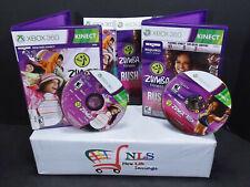 Xbox 360 Games Zumba Fitness Rush, & Zumba Kids