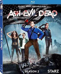 ASH VS EVIL - SEASON 2  - BLU RAY - Region free - Sealed