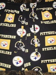 NFL Apparel - Pittsburgh Steelers Logo Pajama Lounge Pants - XL Extra Large