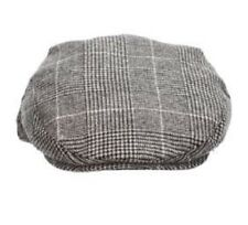 NWT STETSON Dorfman Driving Cap Hat Black Plaid F19-BLK2