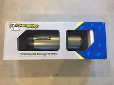 Two Brothers M2 Titanium Cat Eliminator S/O Exhaust Kawasaki ZX-10R 11-15 ZX10R