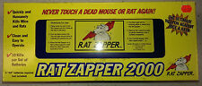 Rat Zapper 2000 Kills Up to 10 rodents with one Set of 4 AA Batteries Less Messy