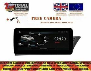 "AUDI A4 A5 2008-16 10.25"" ANDROID 10.0 4/64 NAVI AX2323 HIGH MMI RHD UK DISPATCH"