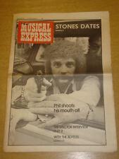 NME 1976 MAR 20 ROLLING STONES PHIL SPECTOR GENESIS
