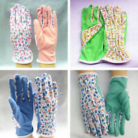 NEW 1 Pair Gardening Women Soft Jersey Garden Gloves One Size 2017 JHB ¾@