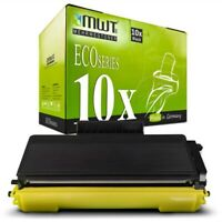 10x MWT Eco Cartucho Compatible Con Brother HL-5250-DNHY DCP-8065-DN MFC-8460-DN