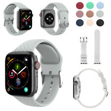 Replacement Woven Silicone Strap for Apple Watch Series 1/2/3/4/5 38/40/42/44mm
