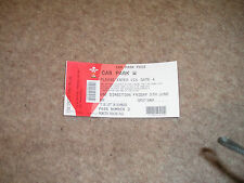 One Direction On The Road Again Tour 2015 Cardiff Car Park Pass Friday 5th June