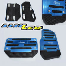 Universal Sports Blue Non-Slip Car Pedal Automatic Series Pad Cover
