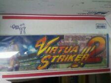 Virtua Striker 2 arcade marquee