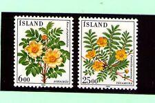 Islandia Flores año 1984 (AL-27)