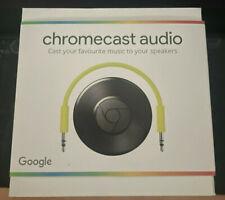 Neues AngebotGoogle Chromecast Audio Media Streamer-schwarz NEU in Box!