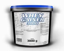 6,6€/Kg WHEY GAINER Eiweiß Aminosäuren Pulver Muskelaufbau Kohlenhydrate Protein