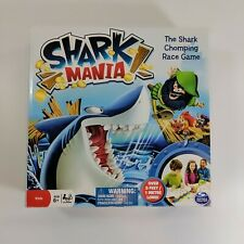 SHARK MANIA SHARK CHOMPING RACING GAME COMPLETE SPIN MASTER