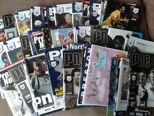 Preston North End Teams O-R Football Programmes