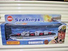 Rare Lesney Matchbox 1975 SEA KINGS K-302 CORVETTE SHIP Never Opened New Boxed