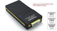 ClimaxDigital CUH195 USB 2.0 to DVI,VGA or HDMI Adaptor for Multiple Monitors UK