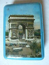 ANCIENNE BOITE BONBON EN TOLE JOHN TAVERNIER PARIS