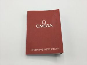 GENUINE OMEGA WATCH OPERATING INSTRUCTIONS MANUAL 1/16 EDITION