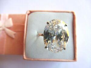 Bague cristal de roche dans bagues avec pierre précieuse | eBay