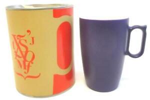 Degrenne Porcelain Smoos 2.0 Illusions Coffee Tea Mug Purple Color Changing
