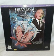 Phantasm II The Ball Is Back! Laserdisc Horror Angus Scrimm 2