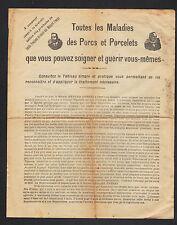 """THOUARS (79) Inventeurs de PRODUITS VETERINAIRES pour COCHONS """"MENARD Freres"""""""