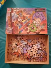 MB Puzzle The Real Ghostbusters 100 pieces 4757-1 COMPLETE-