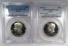 1976-s PCGS PR69 DCAM Silver & Clad Kennedy Half Dollars AI823