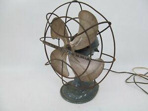 Vintage Westinghouse Electric Desk Cage Fan