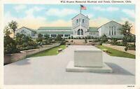 Postcard Will Rogers Memorial Claremore Oklahoma