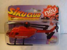 Siku #0832 German Red Feuerwehr Helicopter MIP