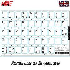 ADESIVI Italiano Tastiera Bianco con le Lettere Bianco per PC Laptop Computer