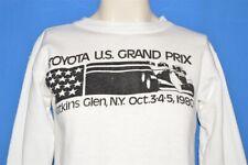 vtg 80s TOYOTA US GRAND PRIX WATKINS GLEN NY 1980 FORMULA 1 RACE SWEATSHIRT S