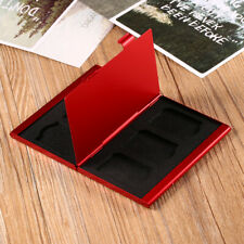 Red Memory Card Holder Micro  Protective Hard Storage Carrying Case Portable WN